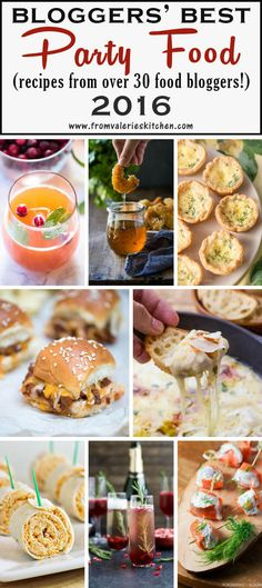 You are guaranteed to find something tasty to eat and drink at your next party in this collection of Bloggers