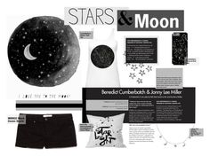 """Moon&Stars"" by pau-rosa ❤ liked on Polyvore"