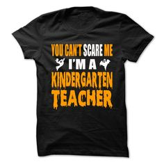 """Halloween Tshirt For Kindergarten Teacher****Not Available In Stores!**** Normally $29.99, but now you can get yours today for only $21.99. Its awesome Halloween costume tshirt for Kindergarten Teacher!! ***How to order? 1. Select your Preferred Color 2. Click the """"ADD TO CART"""" button 3. Select your Preferred Size Quantity and Color 4. CHECKOUT!ss"""