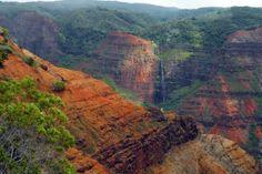waimea canyon | Waimea Canyon State Park, Hawaii Waimea Canyon, Hawaiian Islands, Kauai, State Parks, Grand Canyon, United States, Water, Travel, Water Water