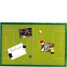 Football Magnetic Memo Board - Boys Bedroom - Home and School Boys Football Bedroom, Football Rooms, Boy Sports Bedroom, Baby Boy Rooms, Girls Bedroom, Kids Football, Bedroom Ideas, Boys Room Decor, Kids Room