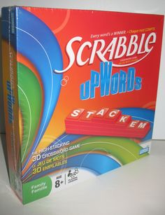 I SOLD IT ON EBAY: We loved Scrabble Upwords and will have to dig it out again soon! #scrabble #game $49.95