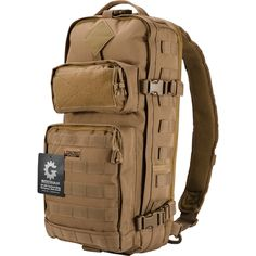 Loaded Gear GX-300 Dark Earth Tactical Sling Backpack   Overstock.com Shopping - The Best Deals on Tactical
