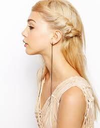 「crystal chain earrings」の画像検索結果