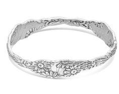 Spoon Bangle Bracelet: Lady Helen by Silver Spoon