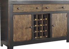 Store your extra dinnerware, flatware, and table linens in a buffet table or sideboard. Shop our great selection of stylish buffet tables and sideboards. Dining Room Server, Sideboard Buffet, Dressing Table, Table Linens, Liquor Cabinet, Beautiful Homes, Storage, Furniture, Home Decor