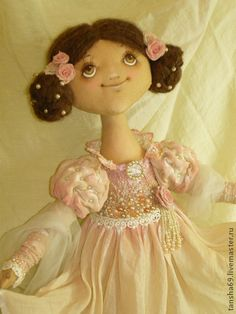 Collectible handmade doll.