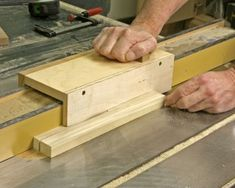 One of the issues of using a table saw safely is that many of the things intended to keep us safe don't work well when you really need them. Ripping thin pieces on the table saw is a good example.