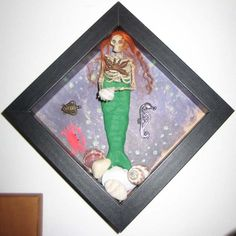 AlteRed aRt DeAd SeA ShAdOwBoX MeRmAiD by SauvageRavenCreation, SOLD
