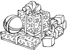 Christmas Gifts coloring page from Christmas gifts category. Select from 20946 printable crafts of cartoons, nature, animals, Bible and many more.