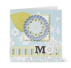 Perfect card idea from Creative Memories for Mother's Day...