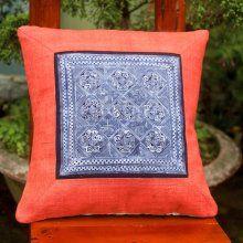 cushion cover batik 45x45cm USD17