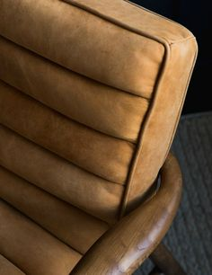Mid-Century Leather Armchair at Rose & Grey