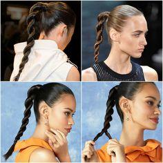 Kordelzopf selber machen Anleitung Pferdeschwanz #frisuren #hair