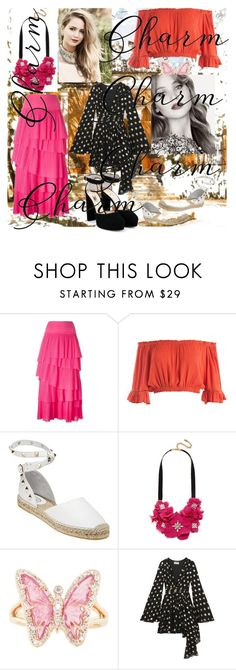 """""""Ynallection Dedicated toJennifer Lawrence"""" by pearlwatanabe on Polyvore featuring Sonia Rykiel, Sans Souci, Ash, BaubleBar, Luna Skye, Yves Saint Laurent, Jimmy Choo and GUESS"""