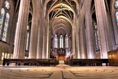 Grace Cathedral- Nob Hill SF