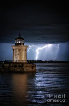 Portland Breakwater Lighthouse Photograph by Scott Thorp
