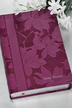 Anniversary gift for either 1st or 2nd year! Hopefully Kyle will listen to my friends...Woman's Study Bible,Plum Floral NKJV – Celebrate Faith