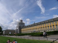 Today it's the University of Bonn, but in the 1780s, it was the Electoral Palace and site of Beethoven's first job: court organist when he was barely in his teens.
