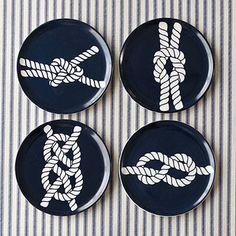 Nautical Knot Tasting Plate