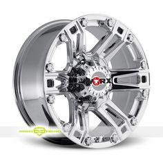 Worx 803 Beast 8 Chrome PVD Wheels For Sale - For more info:  http://www.wheelhero.com/customwheels/Worx/803-Beast-8-Chrome-PVD