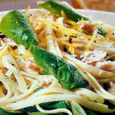 Tuna and Spinach Linguine by 'rolypoly'