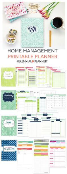 Get your busy life in order with this printable life planner. Budgeting, Meal Planning, Home Maintenance, and Scheduling.