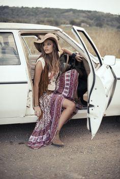 bohemain cool fashion