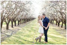 Almond Blossom Chico Engagement
