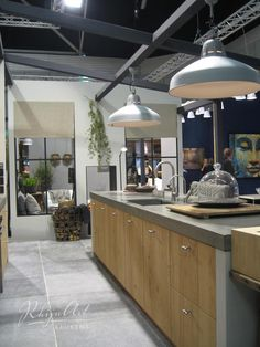 RhijnArt keuken in de stand van Wonen Landelijke Stijl op de VT wonen