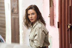 "Rebecca Ferguson - ""Mission Impossible: Rogue Nation"" set stills"