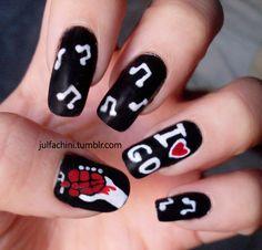 Green Day Nails