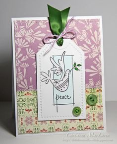Sea Glass & Sentiments: The 12 Kits of Christmas--July
