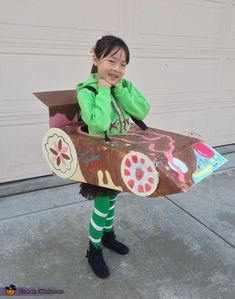 Vanellope from Wreck-It Ralph - 2014 Halloween Costume Contest