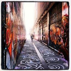 Get wondefully lost wandering the fascinating laneways and arcades of Melbourne  Photo by cityofmelbourne