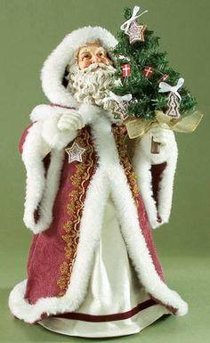 Clothtique Scandinavian Santa