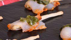 Roast beef de rape y chimichurri de algas de Pepe Solla