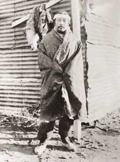 Hombre tehuelche. Autor desconocido. S/F. En: Archivo Fotográfico MCHAP.
