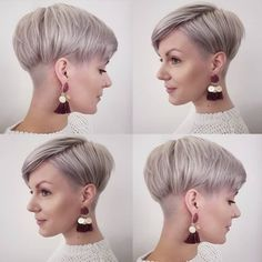 10 Stylish Pixie Haircuts in Ultra-Modern Shapes, Women Hairstyles 2019 Stylish Pixie Haircut for Women, Short Hairstyle and Color Ideas Haircut For Older Women, Short Hair Cuts For Women, Short Pixie Haircuts, Hairstyles Haircuts, 2018 Haircuts, Butch Haircuts, Blonde Hairstyles, Medium Hair Styles, Short Hair Styles