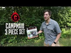 CampMaid 3-Piece Dutch Oven Tools Set with Carry Bag