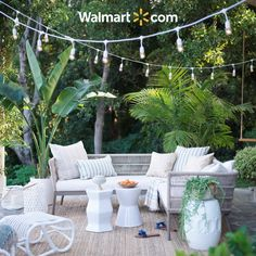 These coastal looks make styling your patio a breeze. Shop curated outdoor collections of furniture, decor & more at Walmart.com.