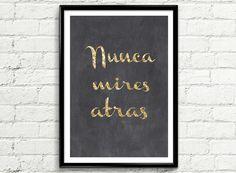 "ILUSTRACION ""NUNCA MIRES ATRAS"" | Mrs Prints"