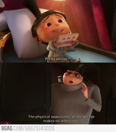I love all the clever lines that I can enjoy EVERY TIME I watch disney.<<<<<Despicable Me isn't really Disney, but I'd agree with you. Funny Movies, Great Movies, Disney Pixar, Walt Disney, Dreamworks, Bon Film, Just For Laughs, Movie Quotes, Tv Quotes