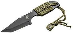 SE KHK6320 Outdoor Tanto Knife with Fire Starter - Fixed Blade Camping Knives - Amazon.com