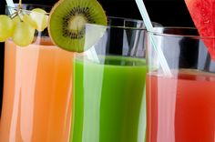 A nutrient-packed, refreshing juice, this anti-aging drink is made with fruit and vegetables.