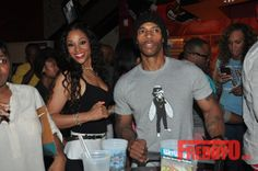 Nikko Love and Hip Hop | SPOTTED: Mimi Faust & Nikko Get Cozy At Charity Event