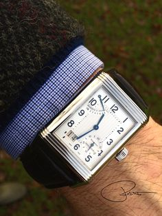 My Jaeger LeCoultre Reverso Grand Date - Taken with iPhone 5s