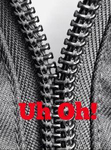 How to fix a broken zipper.  #Fashion #wardrobemalfunctin