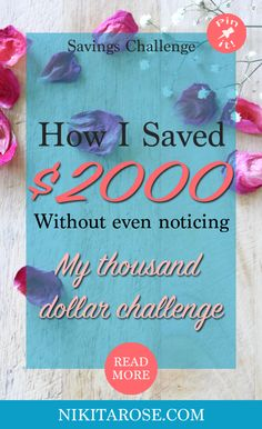 I am excited to share with you that I have just completed my second thousand dollars challenge. I started my thousand dollar challenges in July/August last year with the aim to save $50,000. How to save a thousand dollars without sacrificing your current standard of living. Finding new ways to build wealth out side the wage.