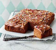 Cinnamon Cake With Coffee Glaze Danish Dessert, Finnish Recipes, Cinnamon Cake, Sweet Pastries, Cake Bars, Sweet Pie, Cocktail, Cake Toppings, No Bake Desserts